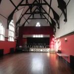 The Lecture Hall, looking towards the stage