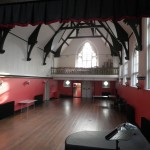 The Lecture Hall, view from stage